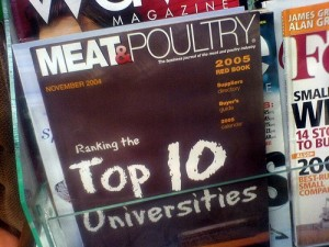 Meat and Poultry Magazine Top 10 Universities Issue by Vera Yu and David Li