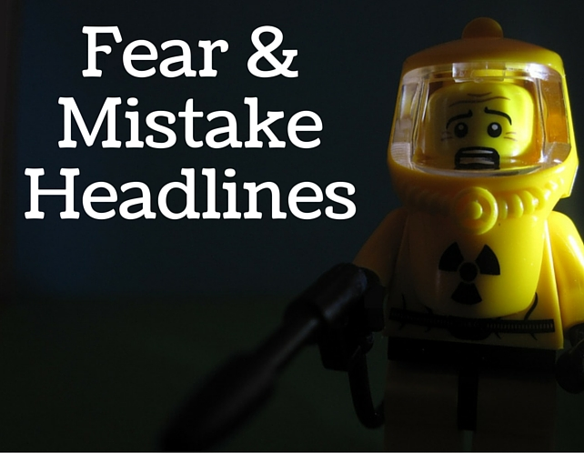 Fear and Mistake Headlines, Nuclear Fear Explored by Pascal